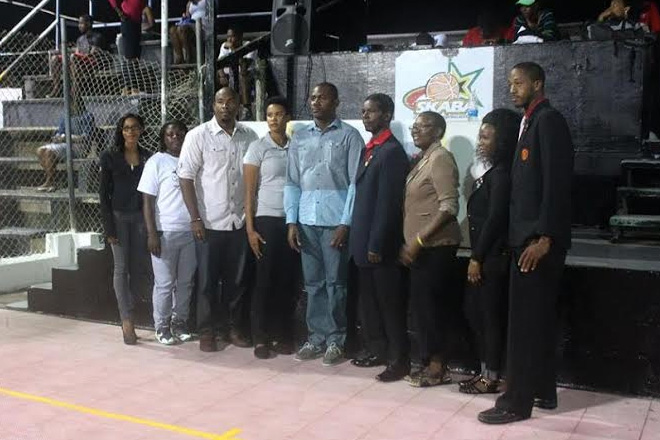 Deputy Prime Minister affirms Government's Commitment to Indoor Sports Facility as he officially opens the 2015 St. Kitts-Nevis National Basketball League