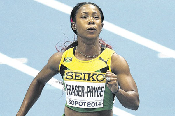 Shelly second in Glasgow Diamond League 100m