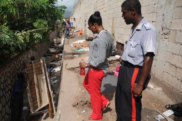 Nine men arrested in raid at Shoemaker Gully in New Kingston