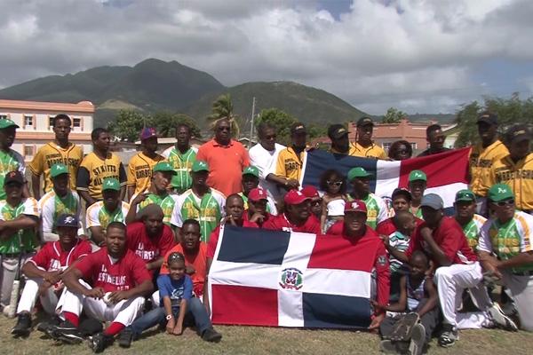 Nationals of Dominican Republic host Softball Tournament