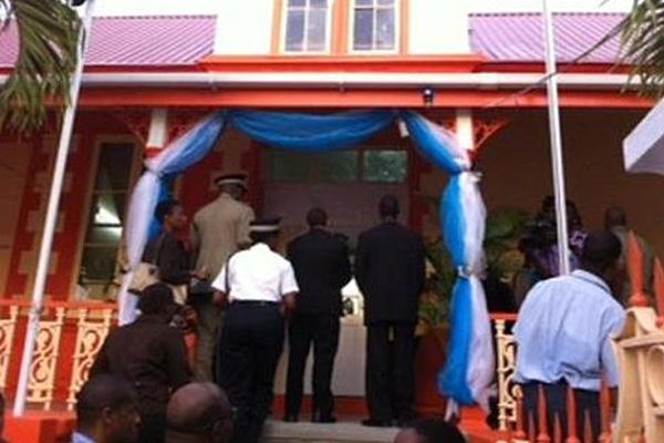 Bipartisan effort restores St Lucia's Central Police Station