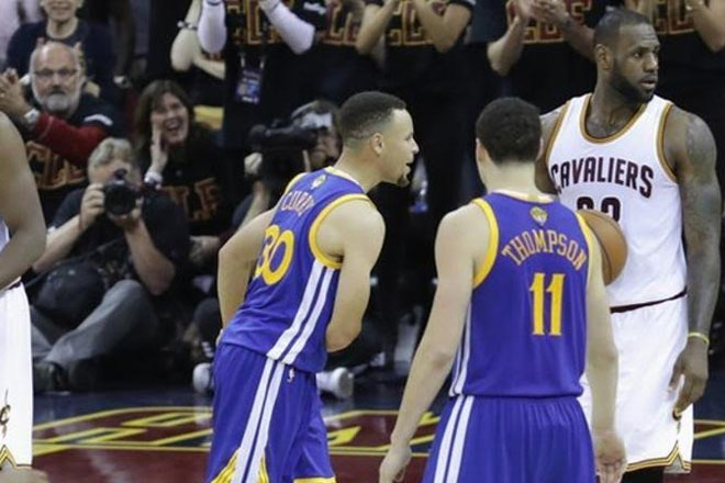 NBA finals: Steph Curry ejected as the Cleveland Cavaliers force decider