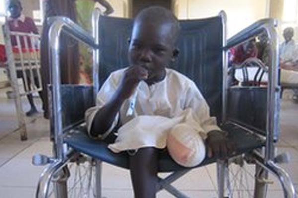 South Sudan child scrap metal diggers blown up in Juba