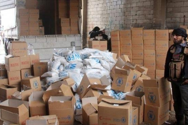 Syrian conflict: UN first air drop delivers aid to Deir al-Zour