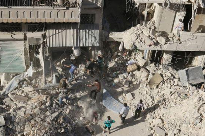 Syria conflict: Obama 'deeply concerned' about Aleppo
