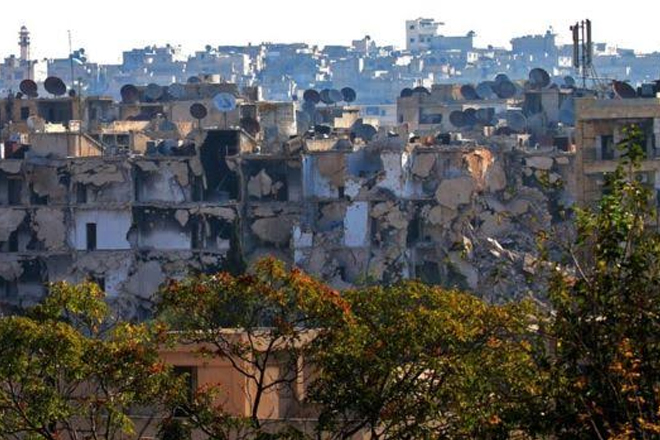 Syria conflict: Eastern Aleppo faces 'total ruin' in two months