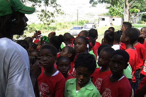 Schools visit Nature's Kingdom