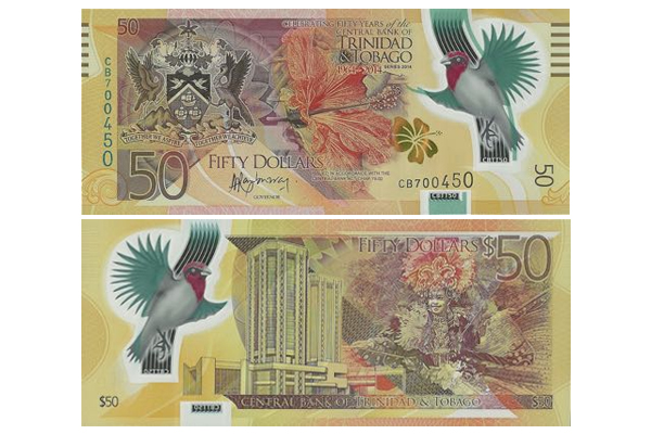 T&T govt ministers dismiss concerns over new $50 bill