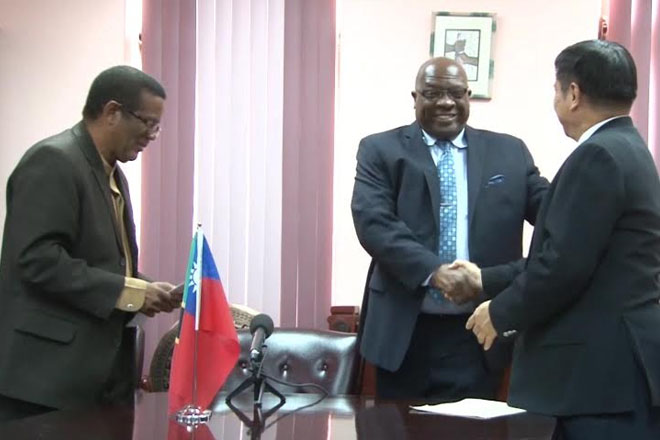 PM Harris Thanks Taiwan For Continued Support