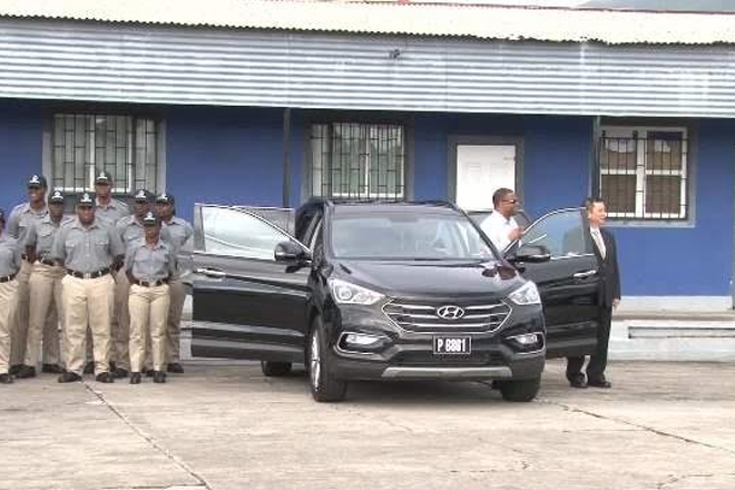 Government Receives Four New Vehicles
