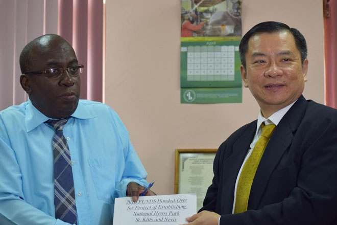 Government receives over EC 2 million from ROC (Taiwan) for establishing National Heroes Park and renovating of communities