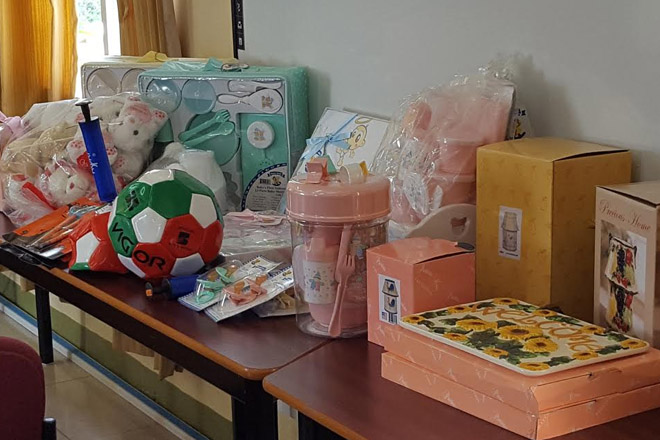 ROC (Taiwan), through SimplyHelp, donates childhood items to the Ministry of Education
