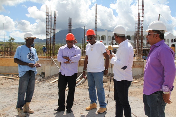 Work on the Residence at Tamarind Cove and Marina Project heading for 2015 tourist season finish