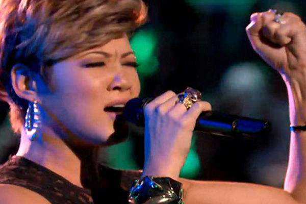 Tessanne advances to top 3 in The Voice