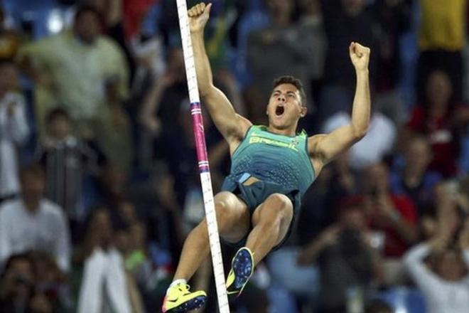 Thiago Braz da Silva wins Brazil's second gold medal of Games