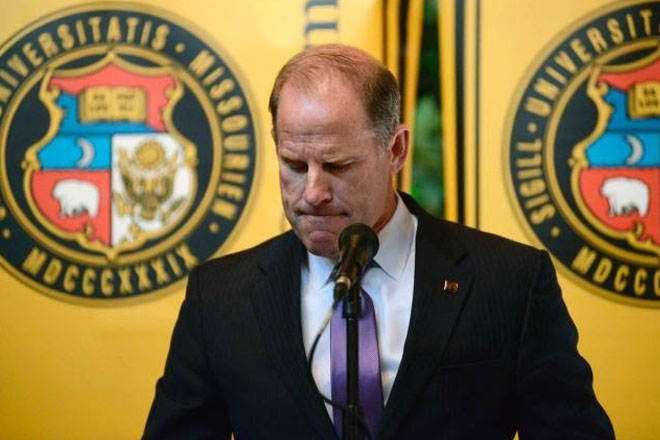 Missouri President, Chancellor Quit After Football Team Walks Out