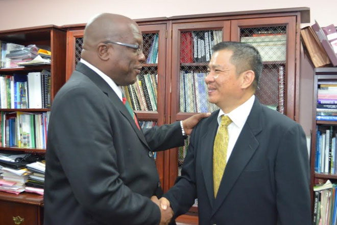 Resident Ambassadors call on PM Harris and Foreign Minister Brantley