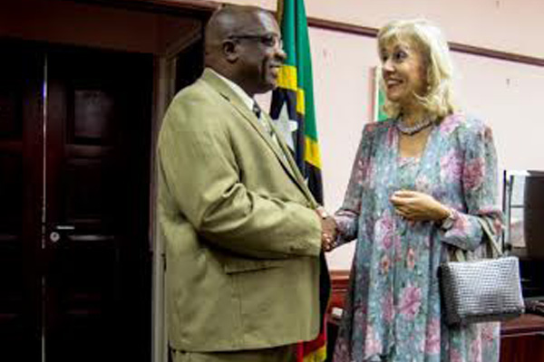 Swiss Ambassador visits St. Kitts and Nevis