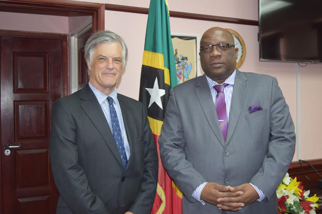 New Australian Ambassador to CARICOM presents credentials to Prime Minister Timothy Harris