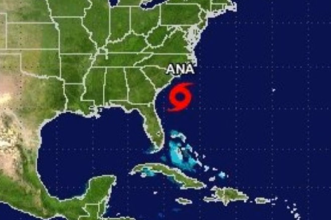 UPDATE: US storm Ana weakens to tropical depression