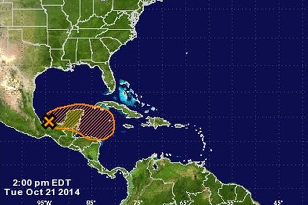 New tropical cyclone may form in northwest Caribbean