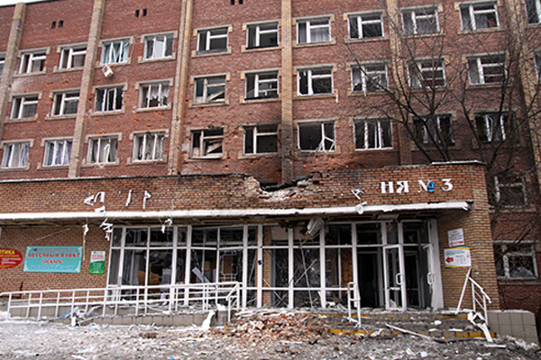 Bus shelling, clashes kill 34 in one of Ukraine war's bloodiest days