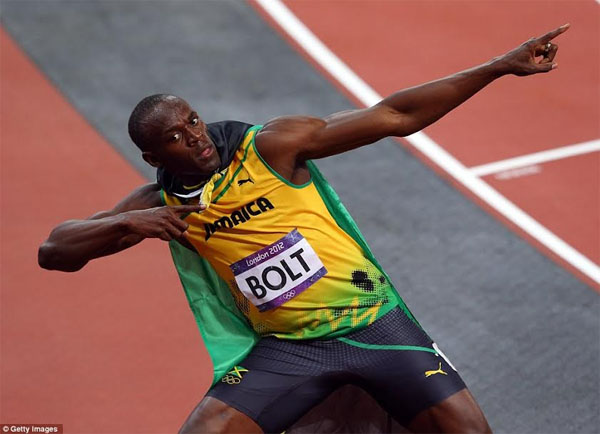 Usain Bolt credits father for decision to focus on track and field career