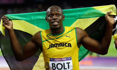 Usain Bolt of Jamaica, wants to run the 200 metres in under 19