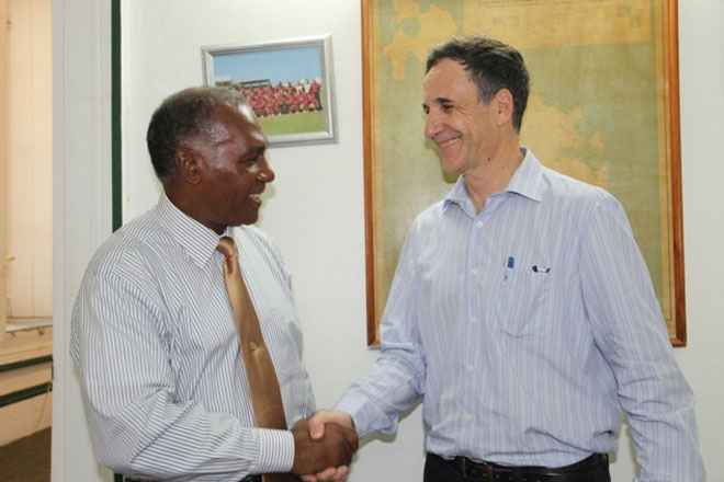 Israel's Ambassador to St. Kitts and Nevis pays courtesy call on Nevis Premier Amory