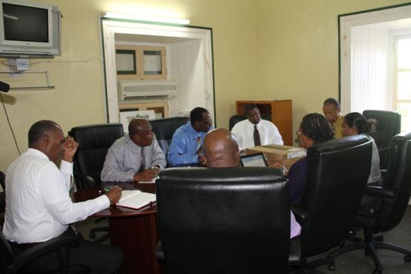 Nevis Premier meets with SKN Labour Commissioner