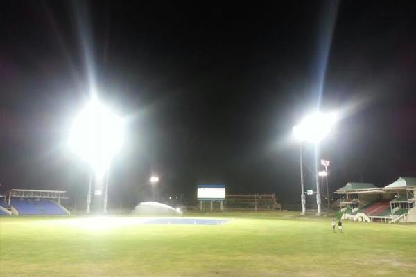Testing begins for New Lights and Screens at Warner Park