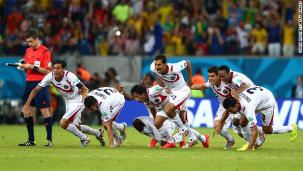 World Cup: Costa Rica sets up Dutch quarterfinal