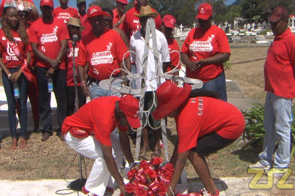 Labour Day Wreath Laying Ceremony