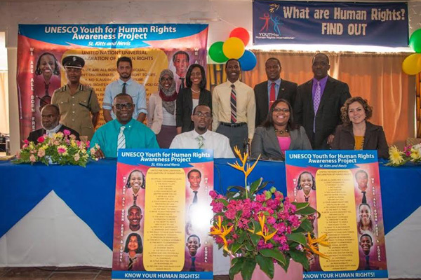 Special Interest Groups Feature at UNESCO Launch of Youth for Human Rights Awareness Project