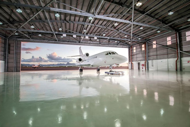 Prime Minister Harris commends Yu Lounge on opening of New Hangar