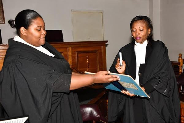 Yvonne Bussue called to the Bar