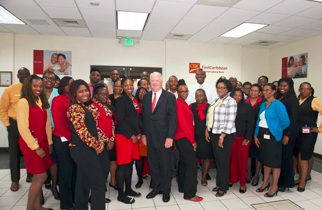 CIBC FirstCaribbean CEO meets with clients, staff in Virgin Islands