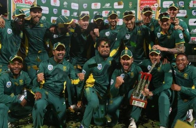 South Africa v Australia: Proteas earn historic one-day international whitewash