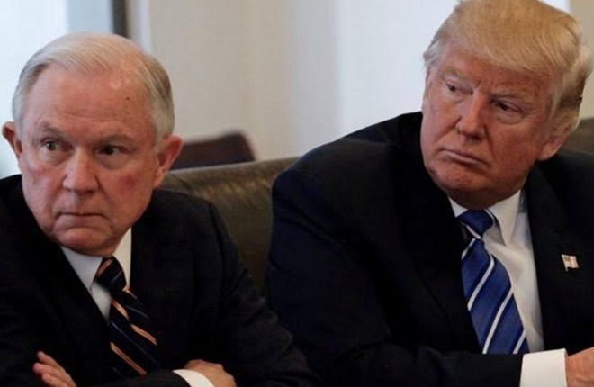 Trump election: Jeff Sessions picked for top law job