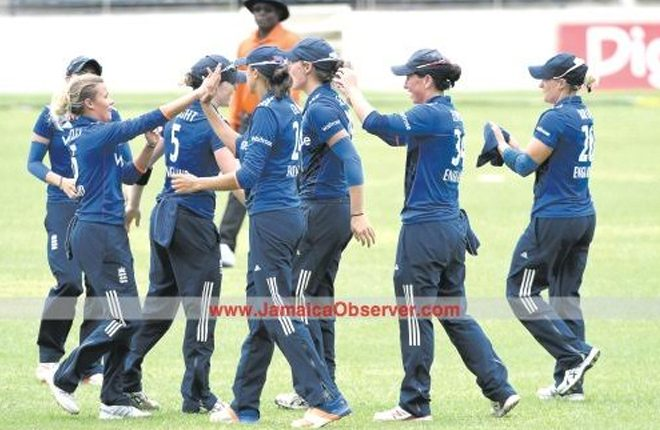 England clinch ODI series with five-wicket win over Windies Women