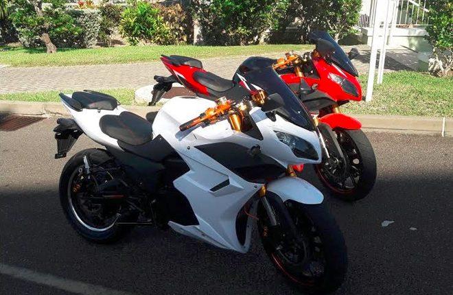 The Electric Motorbikes Designed By Bermudian Entrepreneurs