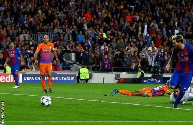 Man City lose 4-0 on Guardiola's return to Nou Camp