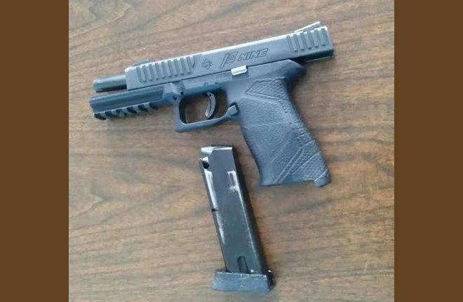Gun and marijuana seized