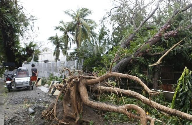 Typhoon Haima slams Philippines in second storm in a week