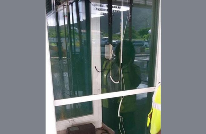 ATM stolen, another damaged