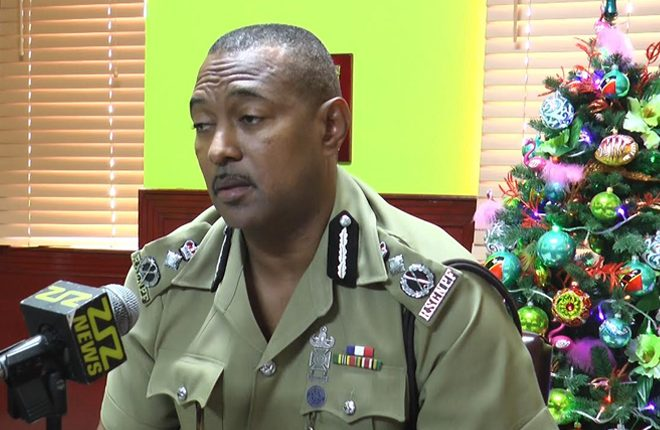 Commissioner of Police Ian Queeley lauds crime free VAT Day