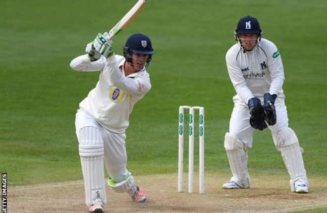 Keaton Jennings marks England Test call-up with century for Lions against UAE