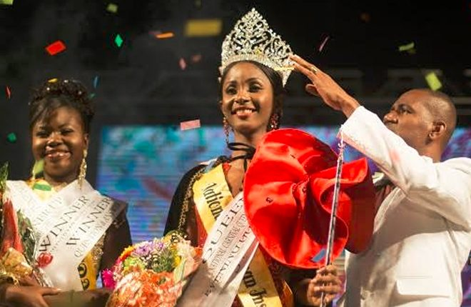 Katherina Davis crowned 2016-2017 National Carnival Queen