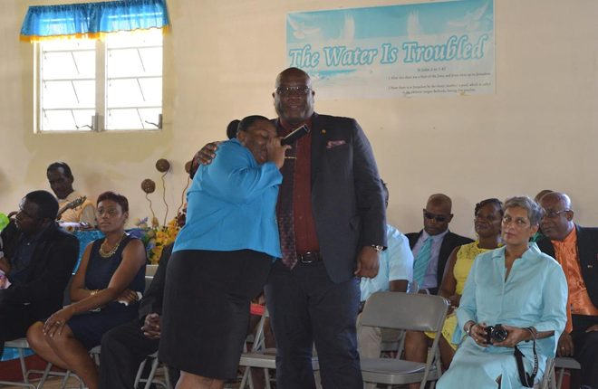 Prime Minister Harris, beloved leader, includes constituents in his birthday celebrations again