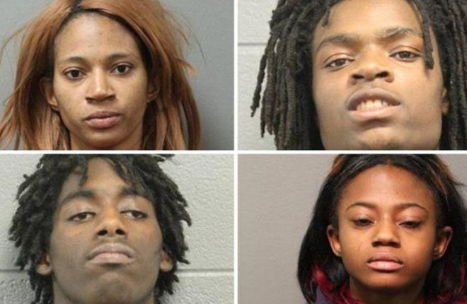 Four charged with hate crime for Chicago Facebook Live attack